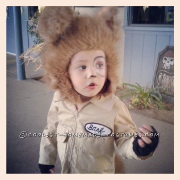 Coolest Homemade Barf Costume for a Toddler (from Spaceballs) - 1