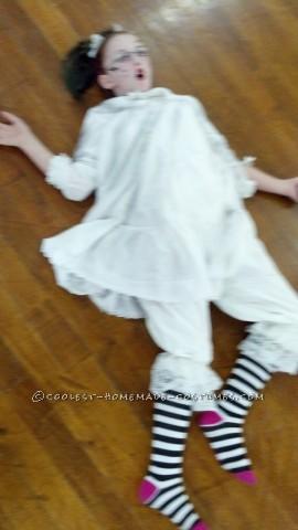 Coolest Broken China Doll Homemade Costume Idea