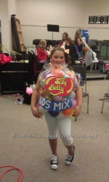 Easy Costume Fun For All Ages: Jelly Belly Jelly Beans Bag Costume - 3