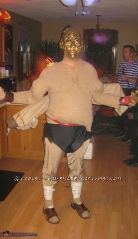 Coolest Handmade Goro Costume from Mortal Kombat