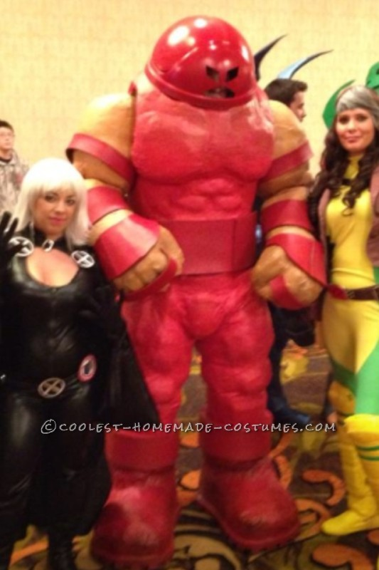 Coolest Homemade Juggernaut Costume from X-Men