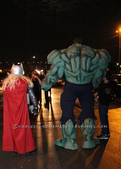 A HULK of a Homemade Costume!