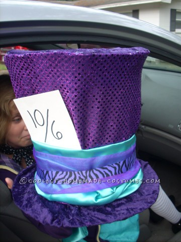 Coolest Mad-Hatter Costume for a Tween Girl