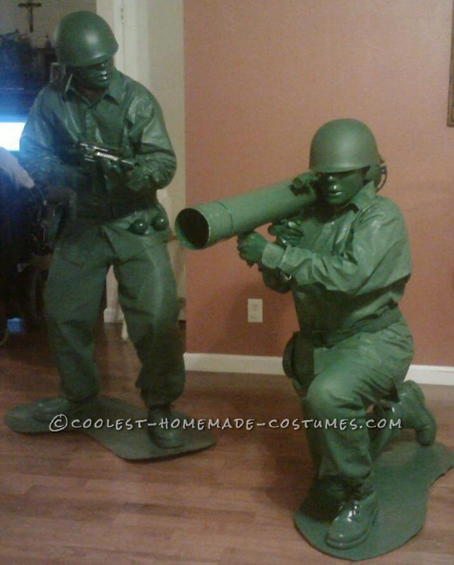 Coolest, Most Realistic Green Plastic Army Men Costumes - 1
