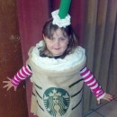 Coolest No-Sew Coffee Costume (Was a Hit Everywhere we Went!)