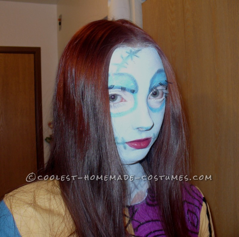 Coolest Homemade Sally from Nightmare Before Christmas Costume - 2