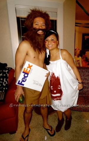 Coolest Wilson and Tom Hanks Cast Away Homemade Couple Costume