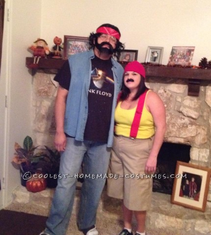Funny Last-Minute Couples Costume Idea: Cheech and Chong