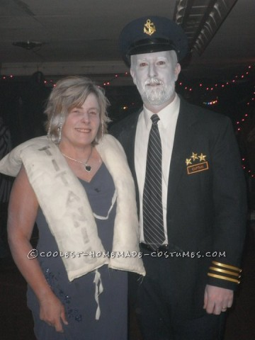 Coolest Couples Frozen Titanic Costume