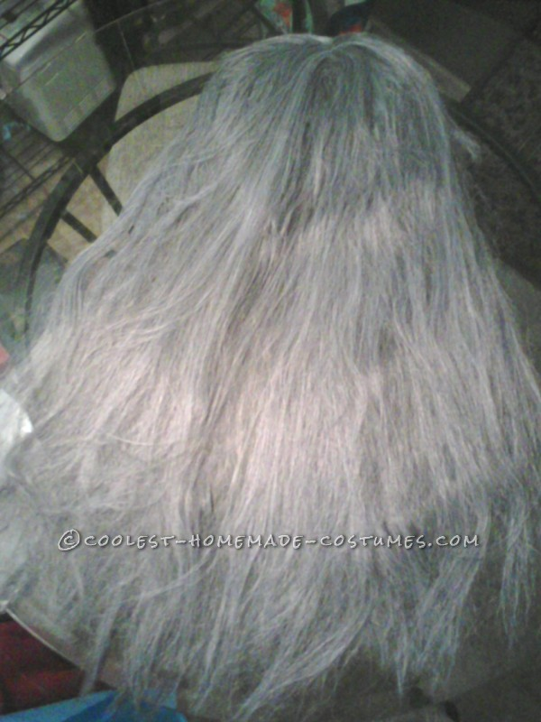 (1) Start with lots of gray wigs, gut 'em apart