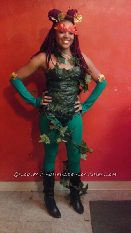 Homemade Woman S Poison Ivy Costume