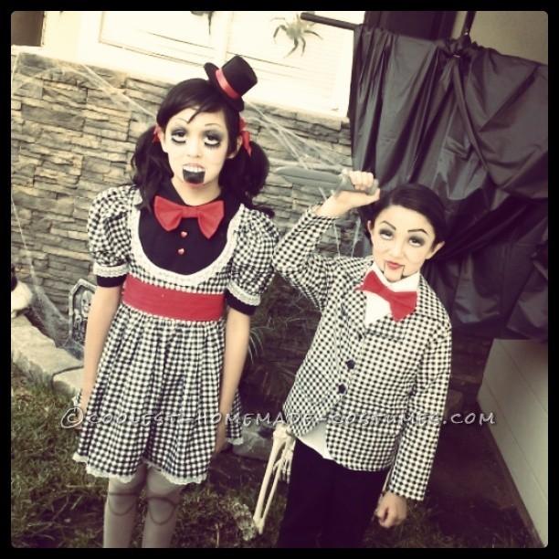 Creepy Ventriloquist Doll Costumes