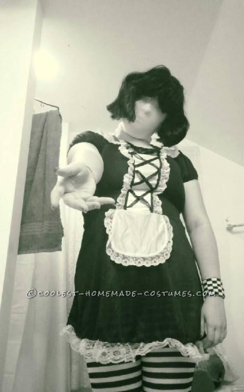 Creepy,Yet Easy Homemade SlenderGirl Costume
