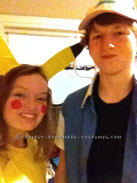 Cutest Couples Costume: Ash Ketchum and Pikachu - 2