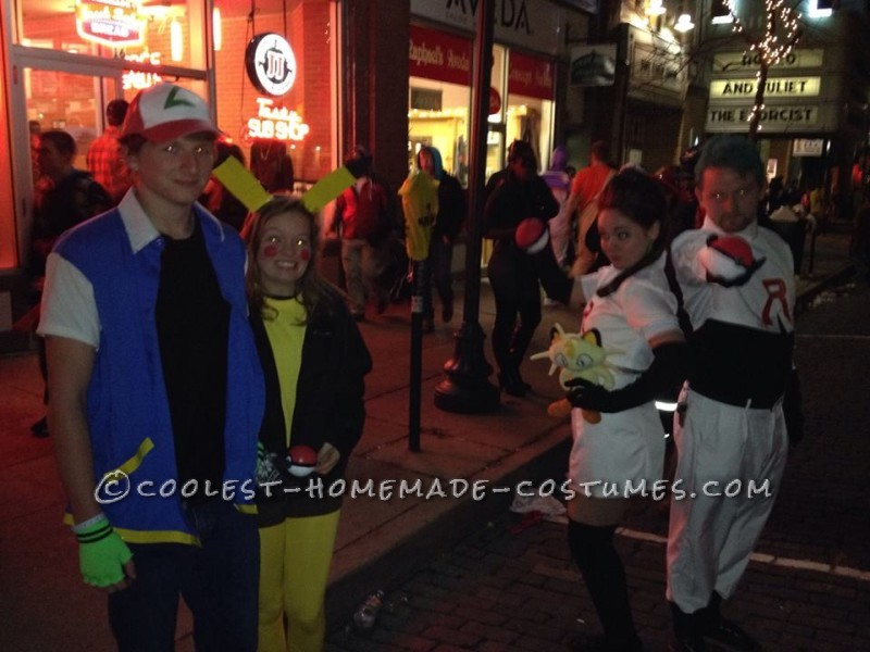 Cutest Couples Costume: Ash Ketchum and Pikachu - 3