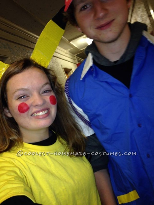 Cutest Couples Costume: Ash Ketchum and Pikachu - 4