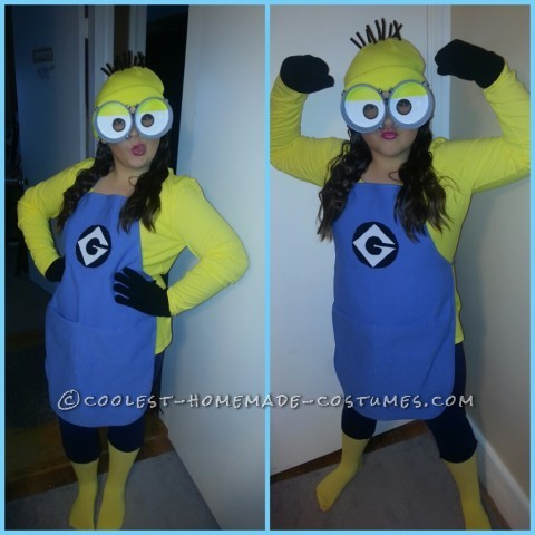 Cutest and Easiest Homemade Minion Costume for All Ages