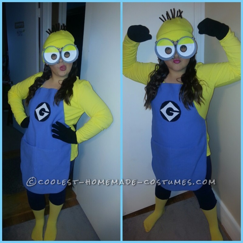 Cutest and Easiest Homemade Minion Costume for All Ages - 1