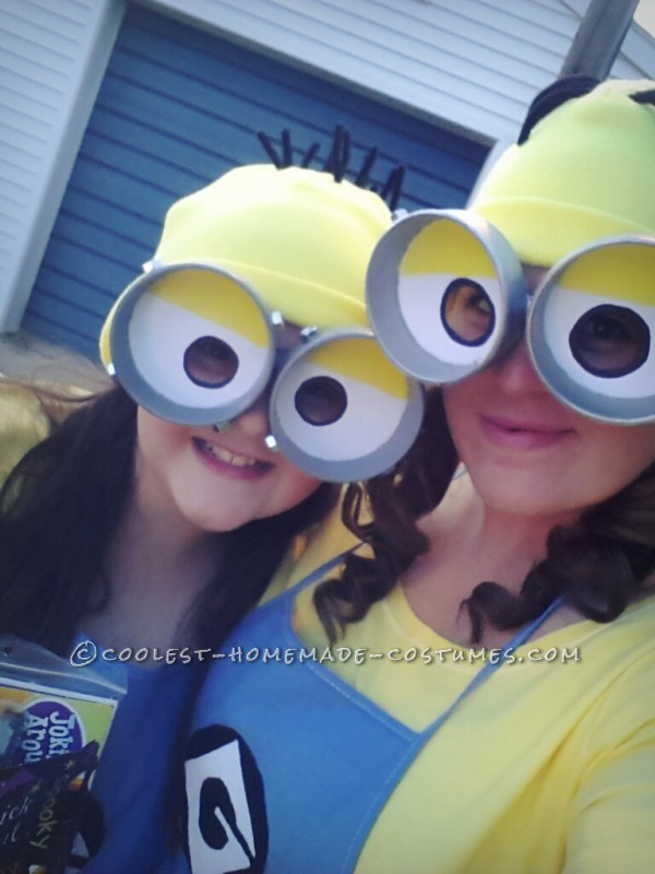 Cutest and Easiest Homemade Minion Costume for All Ages - 2