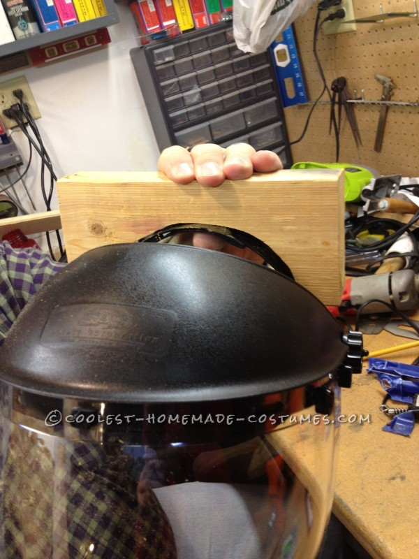 Coolest Homemade Costume from Spaceballs: Dark Helmet - 3