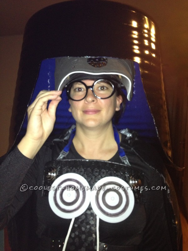 Coolest Homemade Costume from Spaceballs: Dark Helmet - 1