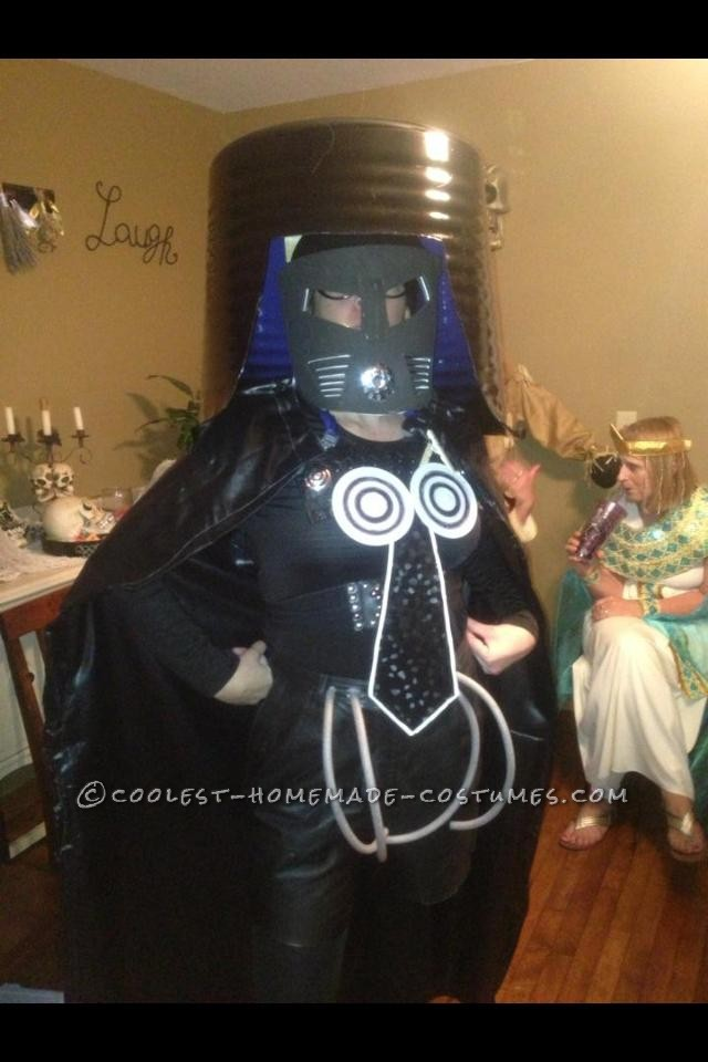 Coolest Homemade Costume From Spaceballs Dark Helmet