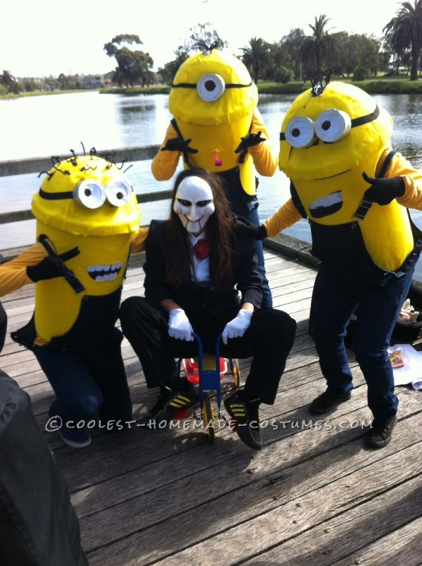 Coolest Despicable Me Minions Group Costume