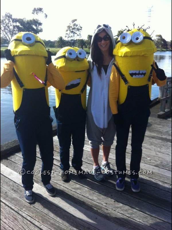 Coolest Despicable Me Minions Group Costume