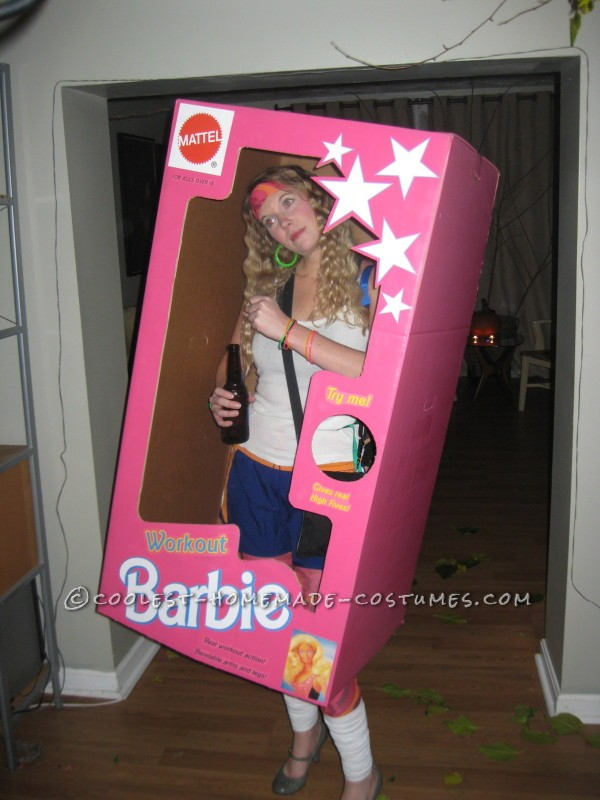 Coolest DIY Barbie and Ken Couple Costume - 1