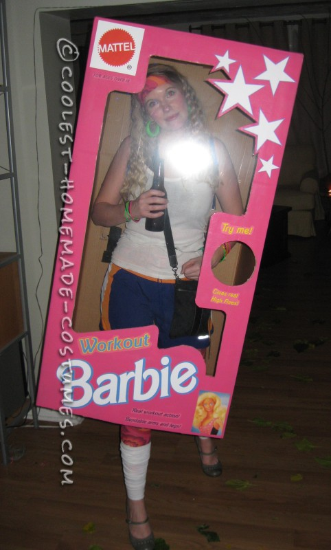 Coolest DIY Barbie and Ken Couple Costume - 2