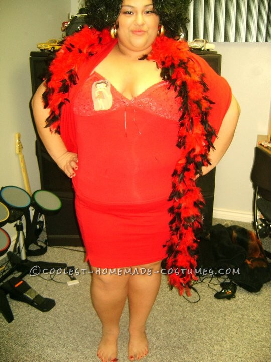 Cool DIY Plus-Size Betty Boop Costume