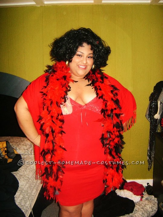 Cool DIY Plus-Size Betty Boop Costume - 1