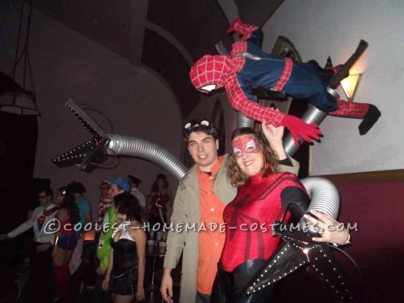 Coolest DIY Doctor Octopus Costume - 1