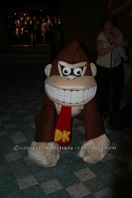 Handmade Donkey Kong Costume - 1