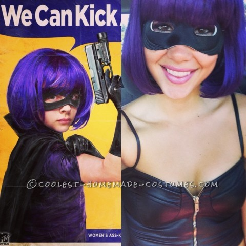Sexy Homemade Costume Idea: Don't Mess with Hit Girl!