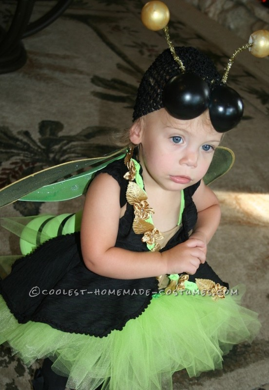 Easy and Amazing Homemade Lighted FireFly Costume for Anyone - 1