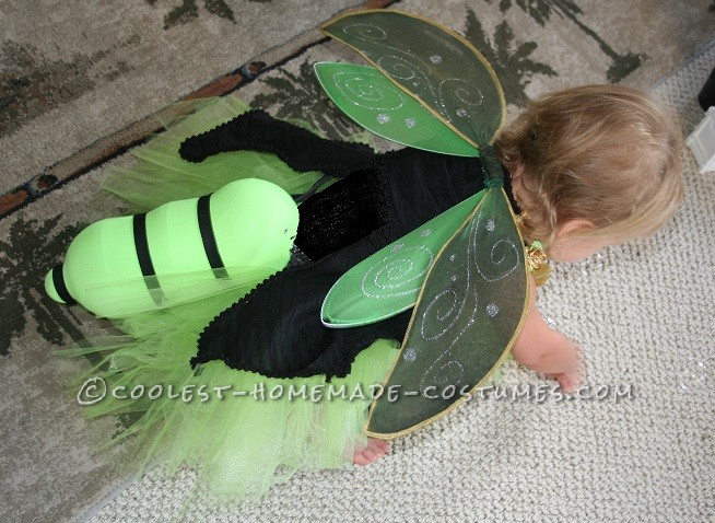 Easy and Amazing Homemade Lighted FireFly Costume for Anyone - 5