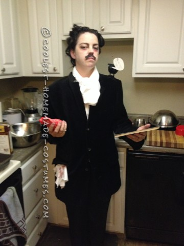 Easy and Creepy Edgar Allen Poe Costume