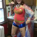 Easy and Unique DIY Wonder Woman Costume