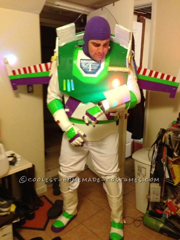 Easy and Fun Homemade Buzz Lightyear Costume - 1