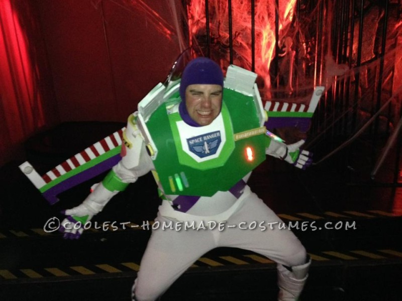 Easy and Fun Homemade Buzz Lightyear Costume - 2