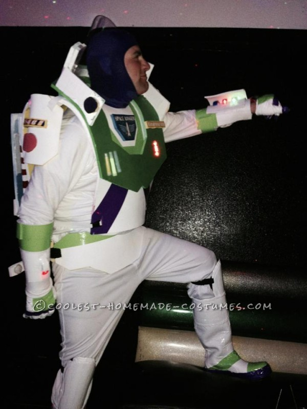 Easy and Fun Homemade Buzz Lightyear Costume - 3