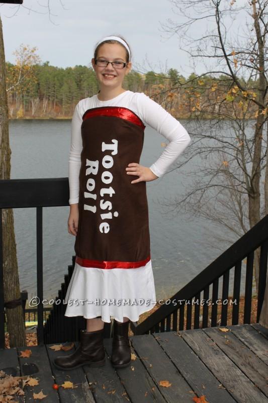The beautiful costume!