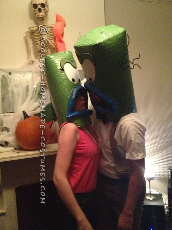 Cool Couple Costume Idea: Ed and Bev Bighead from Rocko's Modern Life - 1