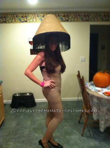 Coolest Electric Leg Lamp Costume