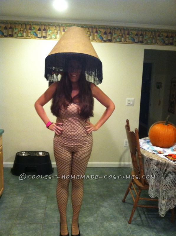 Coolest Electric Leg Lamp Costume - 1