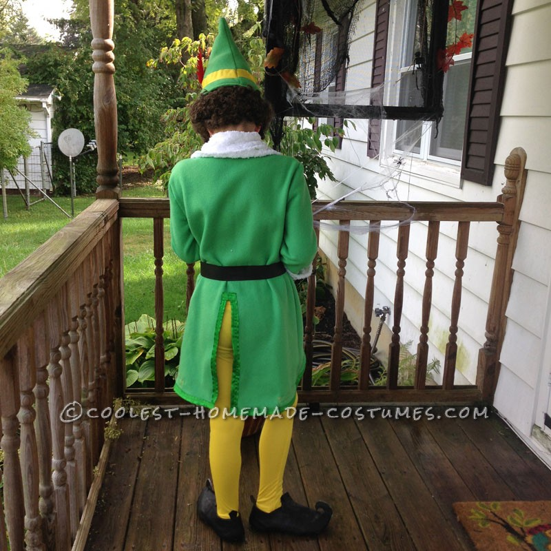 Coolest Homemade Buddy the Elf Costume - 1