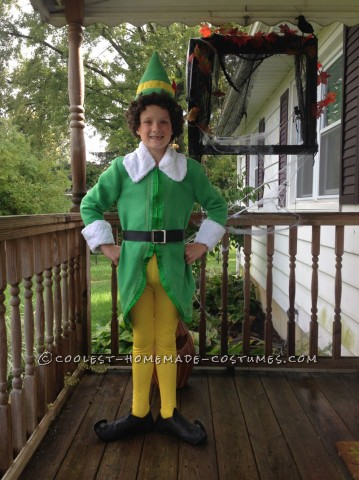 Coolest Homemade Buddy the Elf Costume