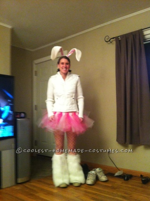 Coolest Homemade Energizer Bunny Costume - 3