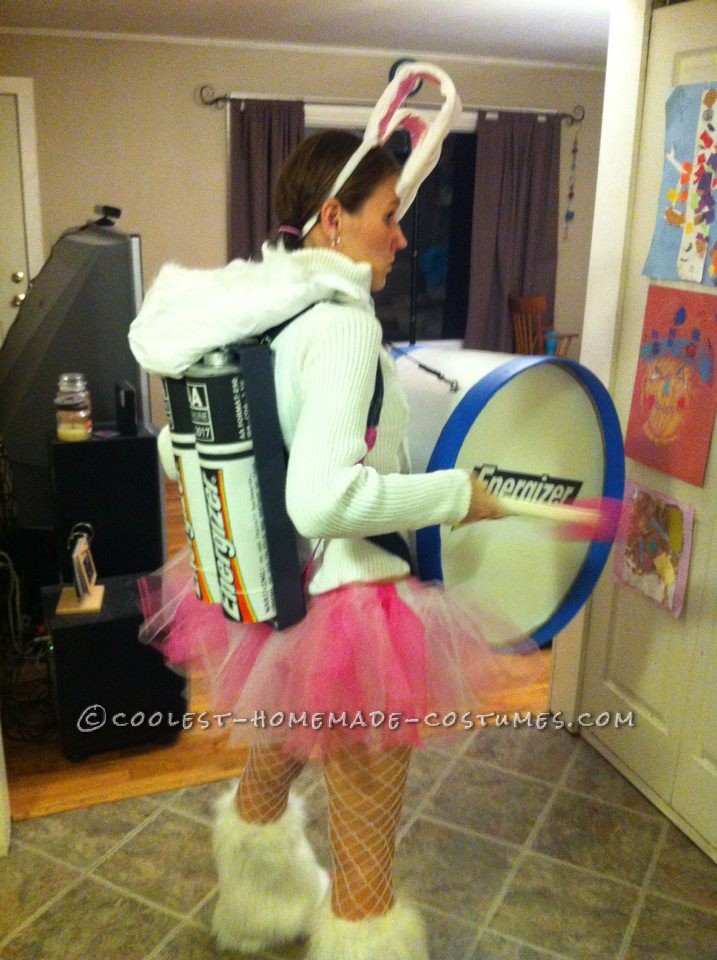 Halloween Costume Ideas For Groups: Cool Homemade Energizer Bunny Costume